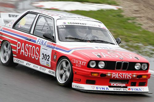 BMW M3 e30 op het circuit van