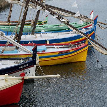 Middellandse zee vissersboten van Bert Bouwmeester
