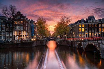 Amsterdamer Grachten von Martijn Kort