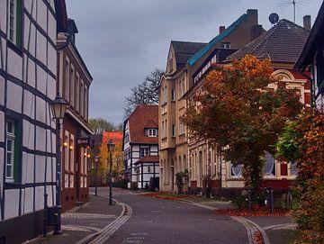 Oud dorp 3 van Edgar Schermaul