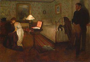 Interieur, Edgar Degas