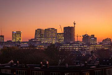 Sunset view of the city centre of Utrecht sur Michiel Ton