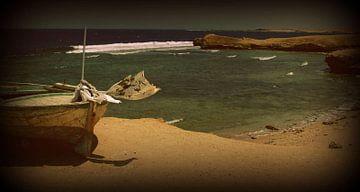 Postcard- Boat van Francisco de Almeida