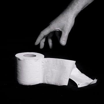 Toilet Art - 1 van Margriet Cloudt