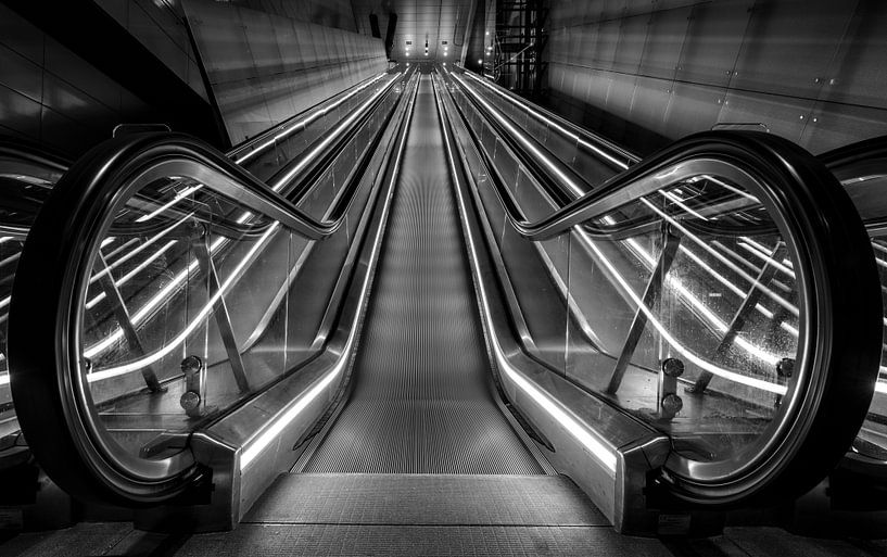 Escalier roulant sur Reinier Snijders