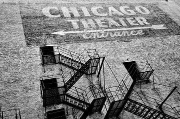 Chicago theater centrum. van Ron van der Stappen