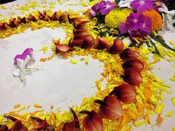 Bloemen in al zijn kleurigheid van Sharon vD