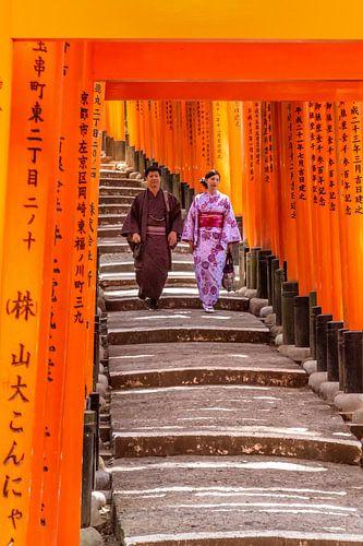 Wandeling in traditionele kledij