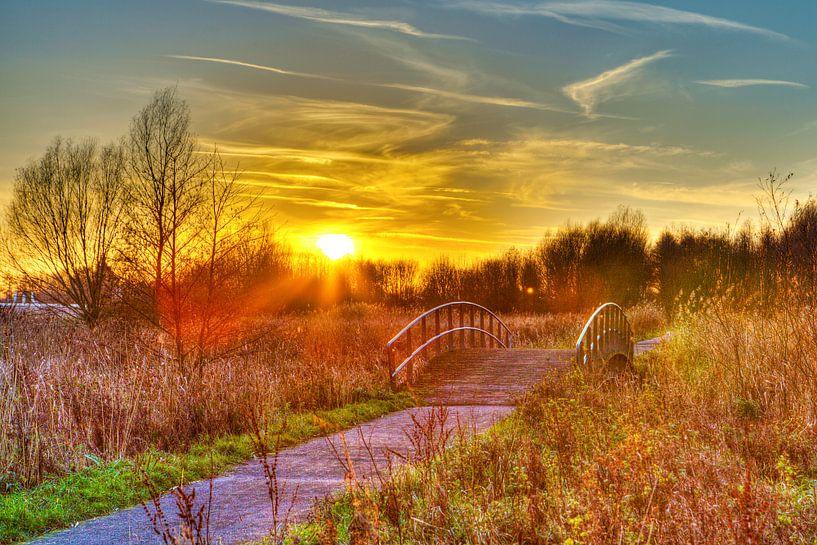 Aan de andere kant van de brug...  van Dexter Reijsmeijer