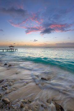 Zonsondergang op Bonaire van Pieter van Dieren (pidi.photo)