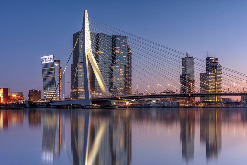 Rotterdam skyline van Fotografie Ronald