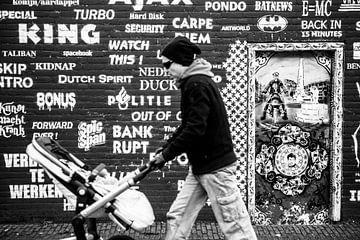 Hemonylaan Amsterdam Zwart-Wit van PIX URBAN PHOTOGRAPHY