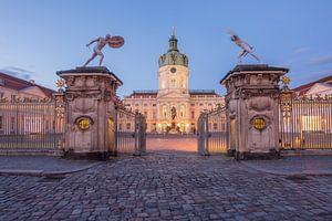Entrée du château de Charlottenburg sur Sergej Nickel