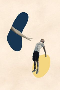 Kom Hier - Surrealistische Print van MDRN HOME