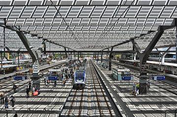 Rotterdam Centraal Station von Esther Seijmonsbergen