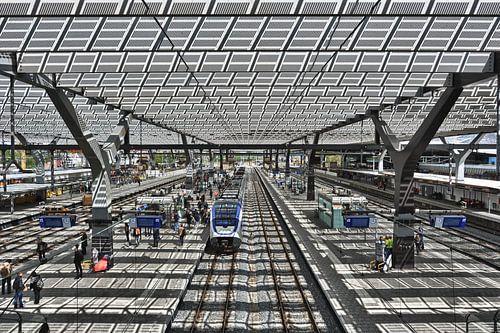 Rotterdam Centraal Station sur Esther Seijmonsbergen