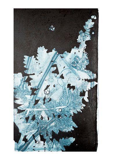 Botanische planten en bloemen afdruk, Varen van Angela Peters