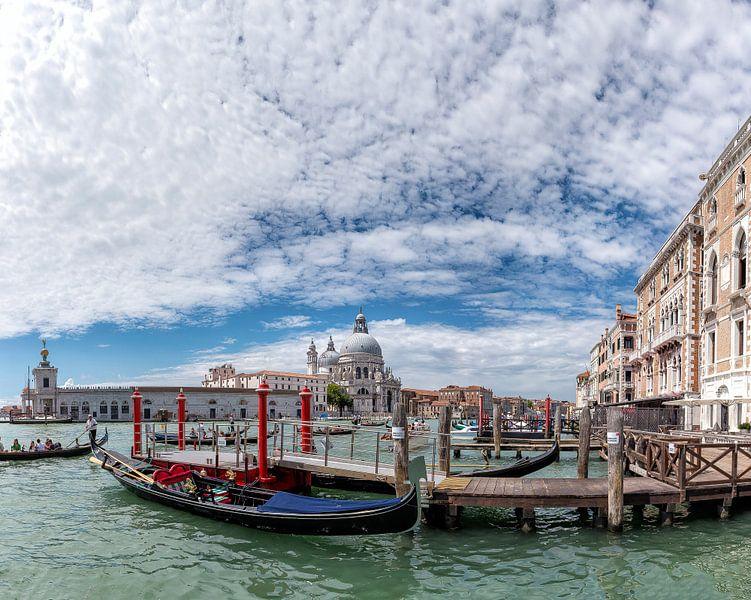 Canal Grande, Chiesa di Santa Maria della Salute, Dorsoduro, Venezia, Venice, Veneto, Italië van Rene van der Meer