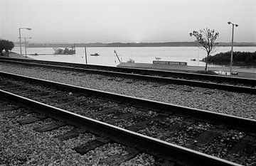 Memphis - Mississippi River van Raoul Suermondt