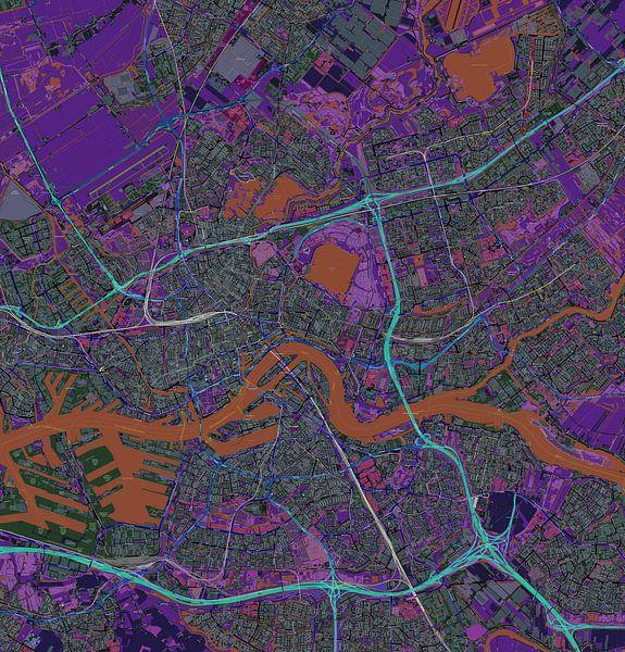 Rotterdam, Karte von Atelier Liesjes