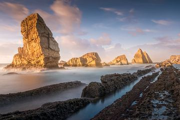 Playa de Arnia, Kantabrien ( Spanien )
