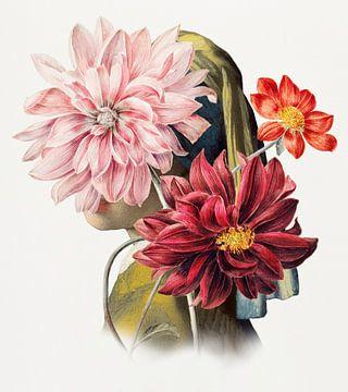 Meisje met de Parel – Behind the Dahlias Edition van Marja van den Hurk