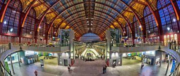 Hall de la gare d'Anvers sur Bob de Bruin