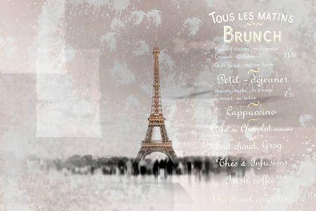 PARIS Collage van Melanie Viola