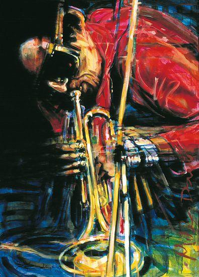 Miles Davis 2 van Frans Mandigers