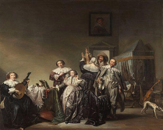 Galant gezelschap, Pieter Codde