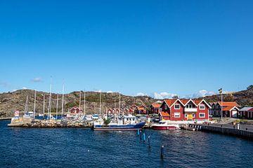 Hafen auf der Insel Dyrön in Schweden von Rico Ködder