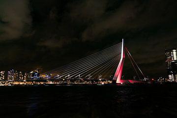 Erasmusbrug Rotterdam van Paul Tolen