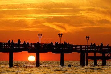 Sonnenuntergang in Graal Müritz von Ingo Rasch