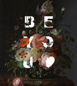 Rijksmuseum Blumenstrauß klassisch modern 'Be You von Studio POPPY