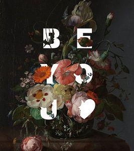 """Bouquet du Rijksmuseum classique moderne """"Be You"""