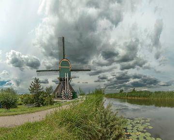 De Spengense molen, Kockengen, Utrecht, Nederland van Rene van der Meer