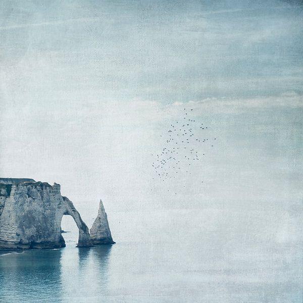 Krijtrotsen Étretat - Normandië - Frankrijk van Dirk Wüstenhagen