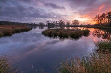 Sonnenaufgang Dwingelderveld (Die Niederlande) von Marcel Kerdijk