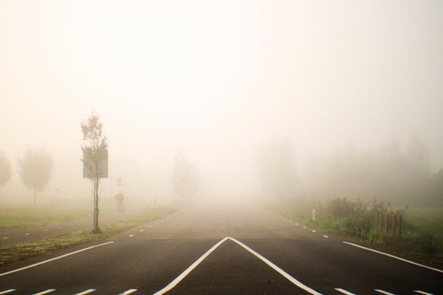 Weg de mist in van Jeroen de Lang