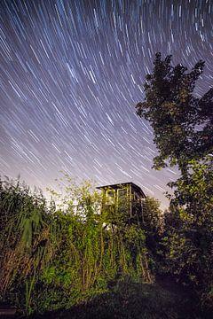 Star Track Leekstermeer Gebiet Niederlande von R Smallenbroek