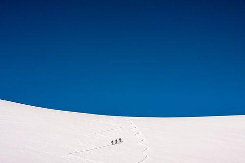 """Winterlandschaft """"Skitour"""""""