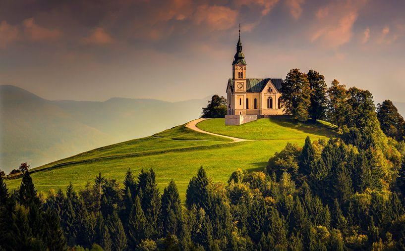 Sint Leonardkerk, Slovenië van Adelheid Smitt