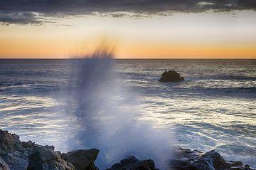 Spetterende zonsondergang van Mark Bolijn