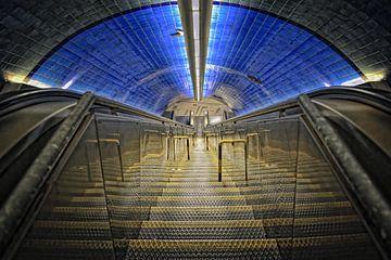 metrostation Lissabon. van Tilly Meijer
