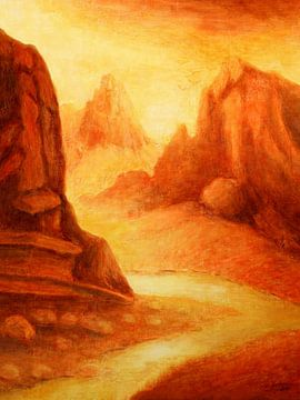 Mystik Canyon von Marita Zacharias