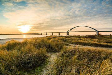 Fehmarnsundbrücke van