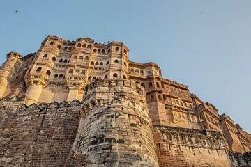 Jaisalmer Fort ist eine der größten vollständig erhaltenen befestigten Städte der Welt. von Tjeerd Kruse