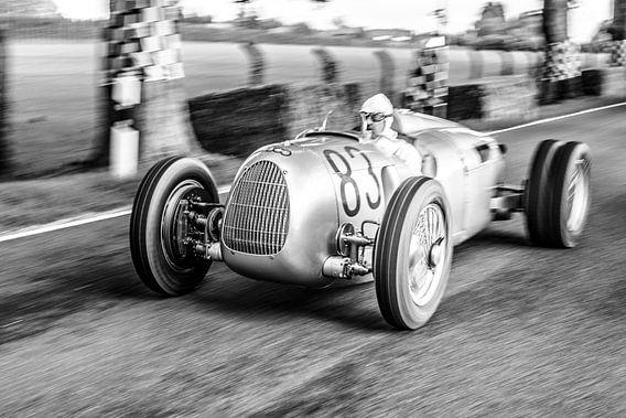 Auto Union Grand Prix Rennwagen Type C V16 van Sjoerd van der Wal