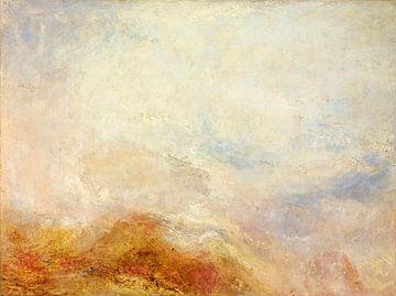 Une scène de montagne, Val d'Aoste, William Turner