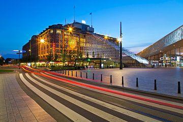 Groothandelsgebouw avec Stairway to Rotterdam sur Anton de Zeeuw